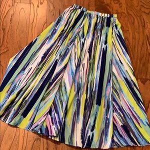 NWT Multi Color Cupio Maxi Skirt